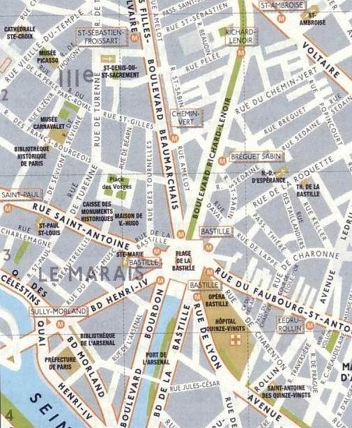 Street Map Clip Art